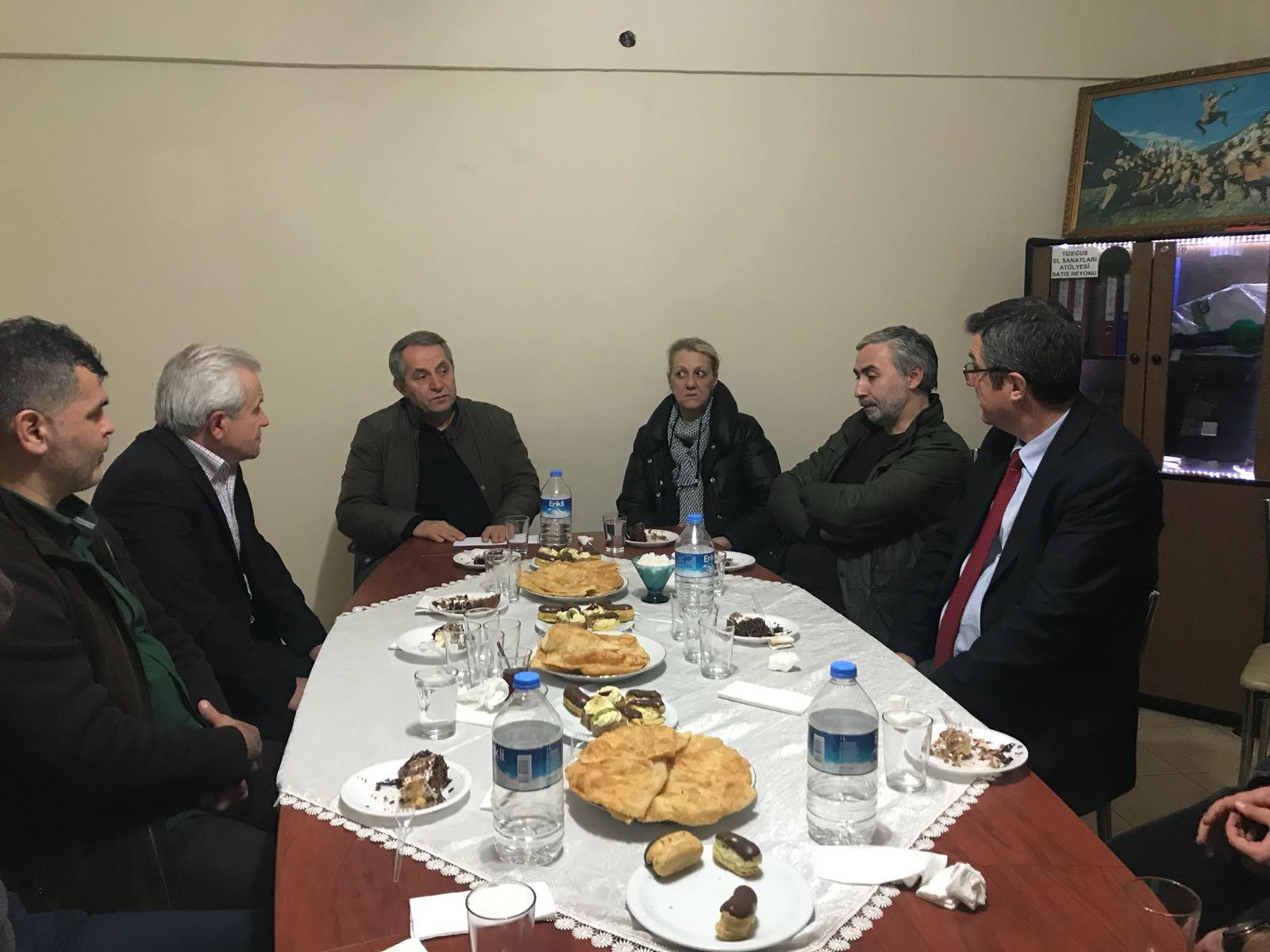 Düzce Abhaz Kültür Derneği'nden Derneğimize Ziyaret